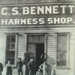 Bennett's Harness Shop,1895